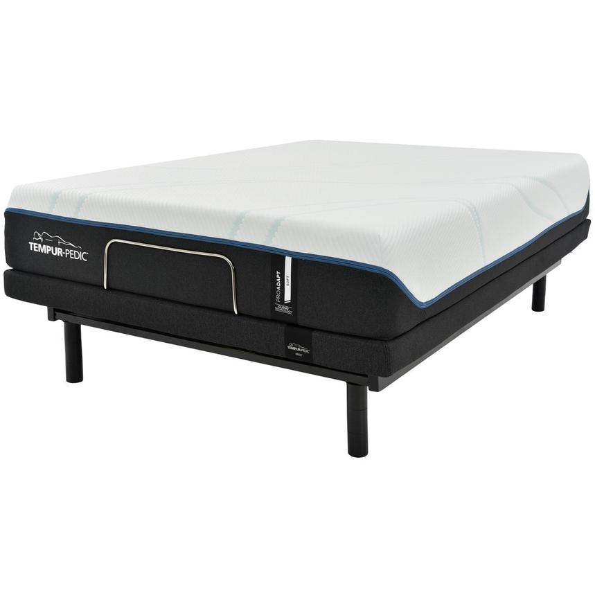ProAdapt Soft Queen Mattress w/Ergo® Extend Powered Base by Tempur-Pedic  alternate image, 3 of 7 images.
