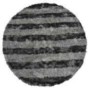 Fusion Gray 8' Round Area Rug  main image, 1 of 3 images.