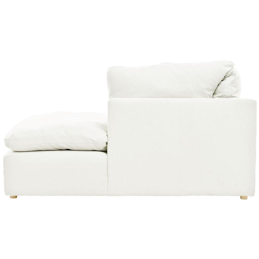 Neapolis White Sofa w/Right Chaise  alternate image, 3 of 5 images.
