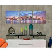 Miami Skyline III Set of 3 Acrylic Wall Art  alternate image, 2 of 5 images.
