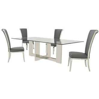 Opus/Joy Gray 5-Piece Formal Dining Set