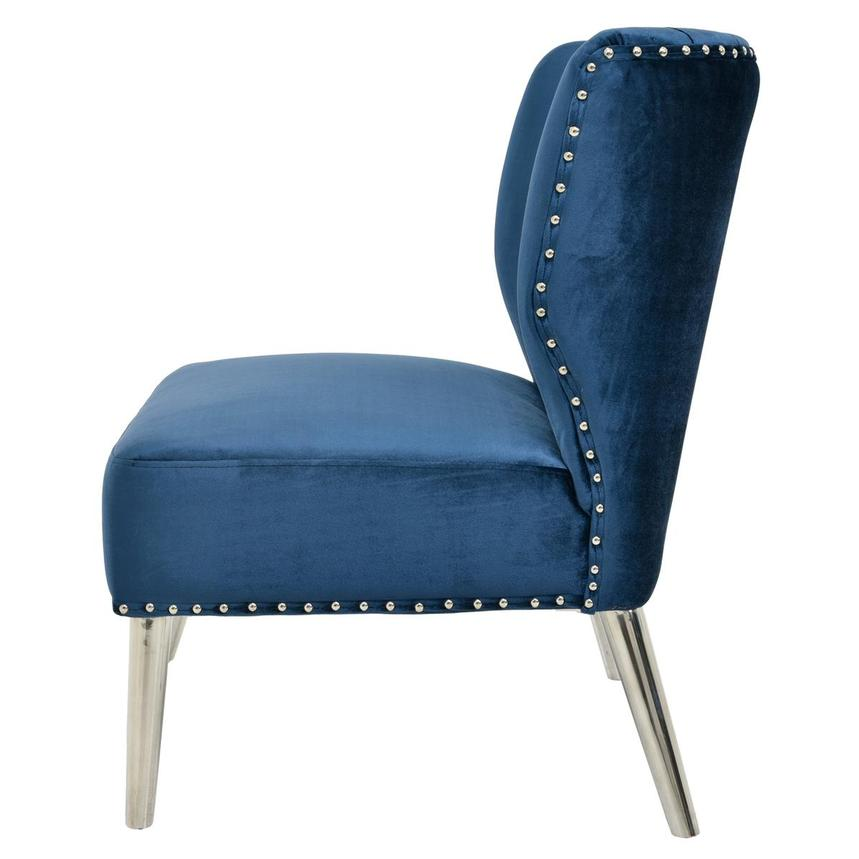 Palermo Blue Accent Chair  alternate image, 3 of 6 images.