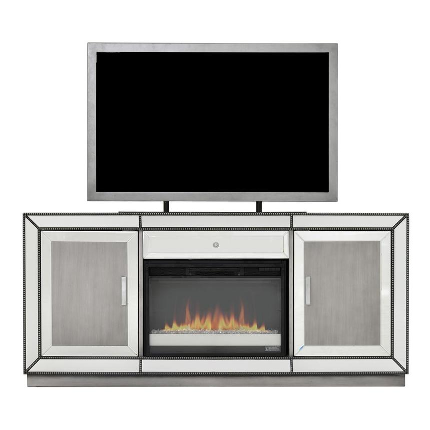 Galena Electric Fireplace w/Remote Control  main image, 1 of 7 images.