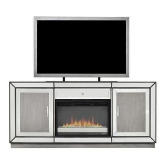 Galena Faux Fireplace w/Remote Control