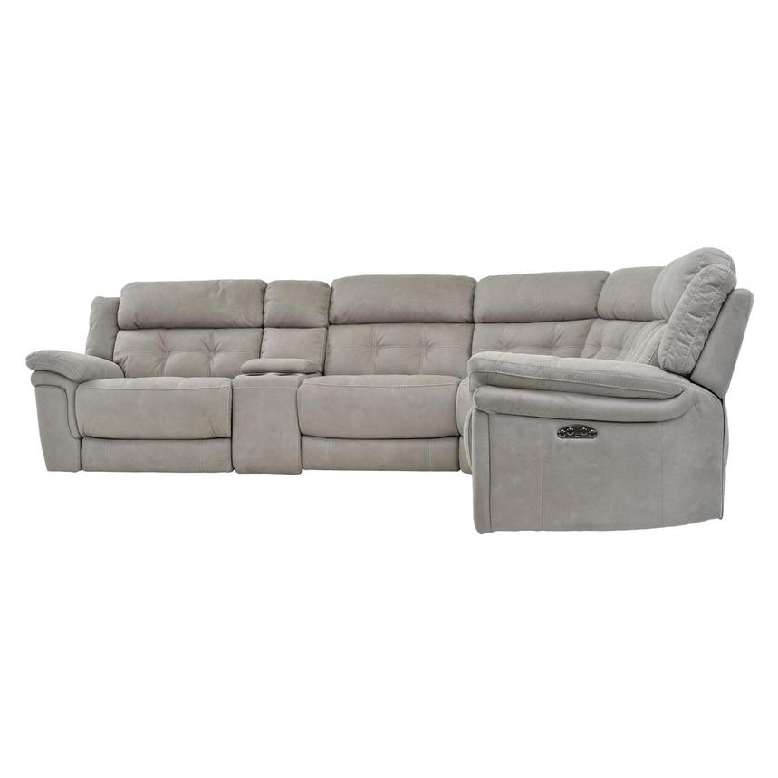 Stallion II Power Motion Sofa w/Right & Left Recliners  alternate image, 3 of 7 images.
