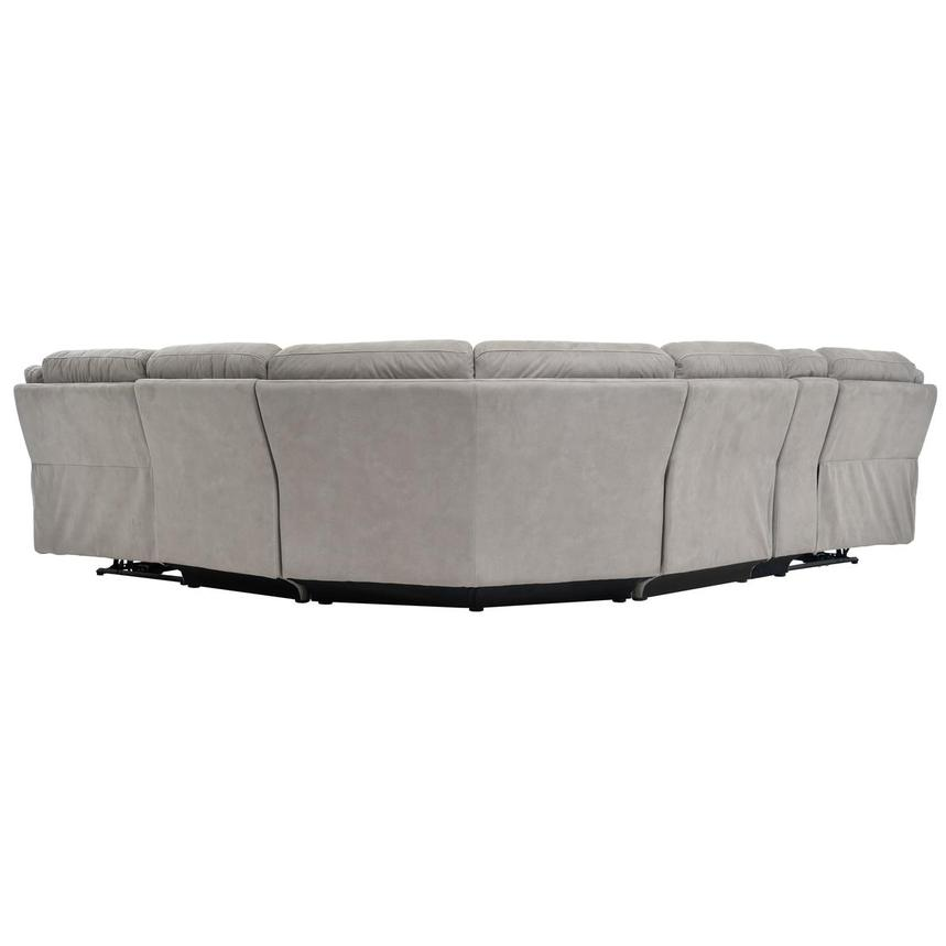 Stallion Ligth Gray Power Motion Sofa w/Right & Left Recliners  alternate image, 4 of 7 images.