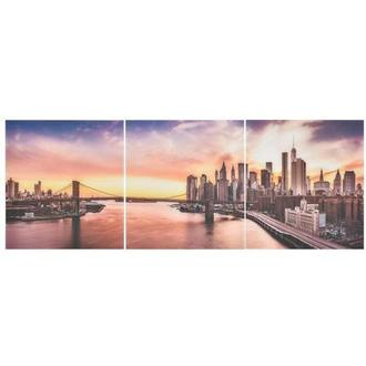 New York Set of 3 Acrylic Wall Art