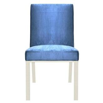 Wellington Blue Side Chair
