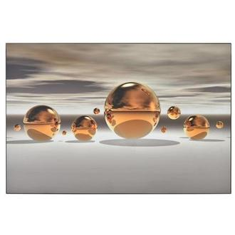 Golden Bowl Acrylic Wall Art