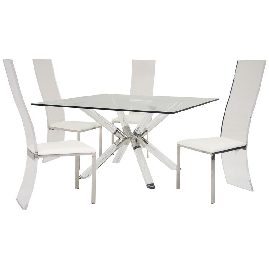 Ace/Layra 5-Piece Dining Set  main image, 1 of 10 images.