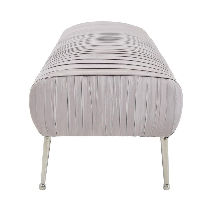 Catalina Gray Bench El Dorado Furniture