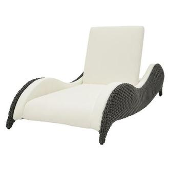 Luxor Gray Chaise Lounge
