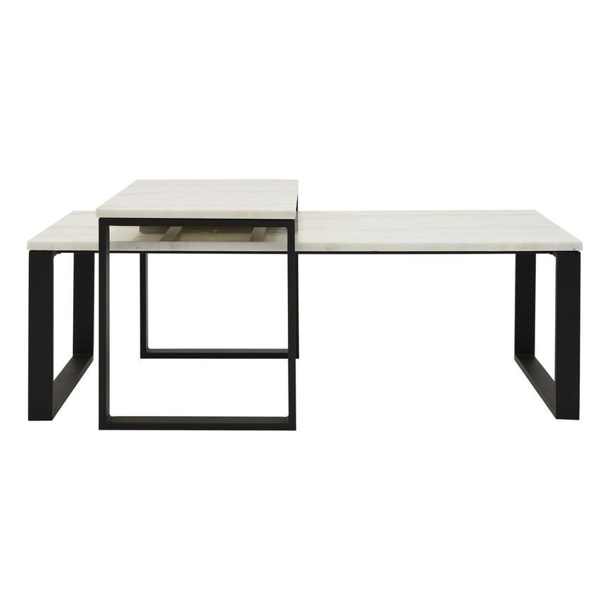 Katrine Marble Coffee Table Set Of 2 El Dorado Furniture