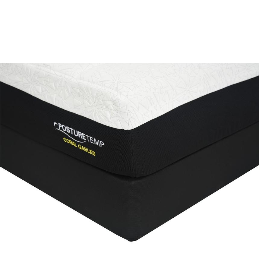 Coral Gables Full Memory Foam Mattress w/Regular Foundation by Sealy Posturepedic  main image, 1 of 4 images.