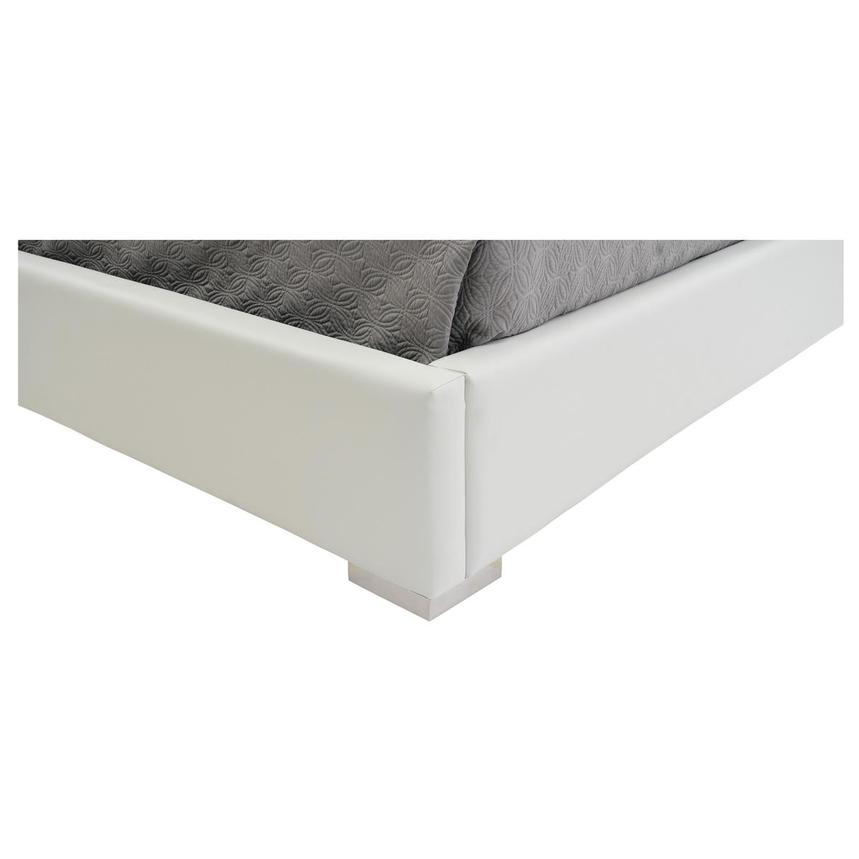Livia White King Platform Bed  alternate image, 9 of 9 images.