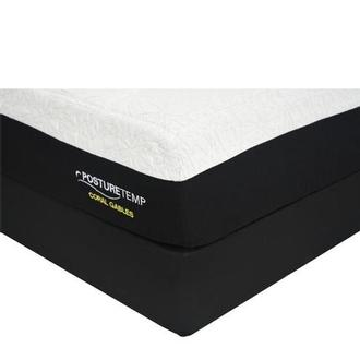 Coral Gables Queen Memory Foam Mattress w/Regular Foundation by Sealy Posturepedic