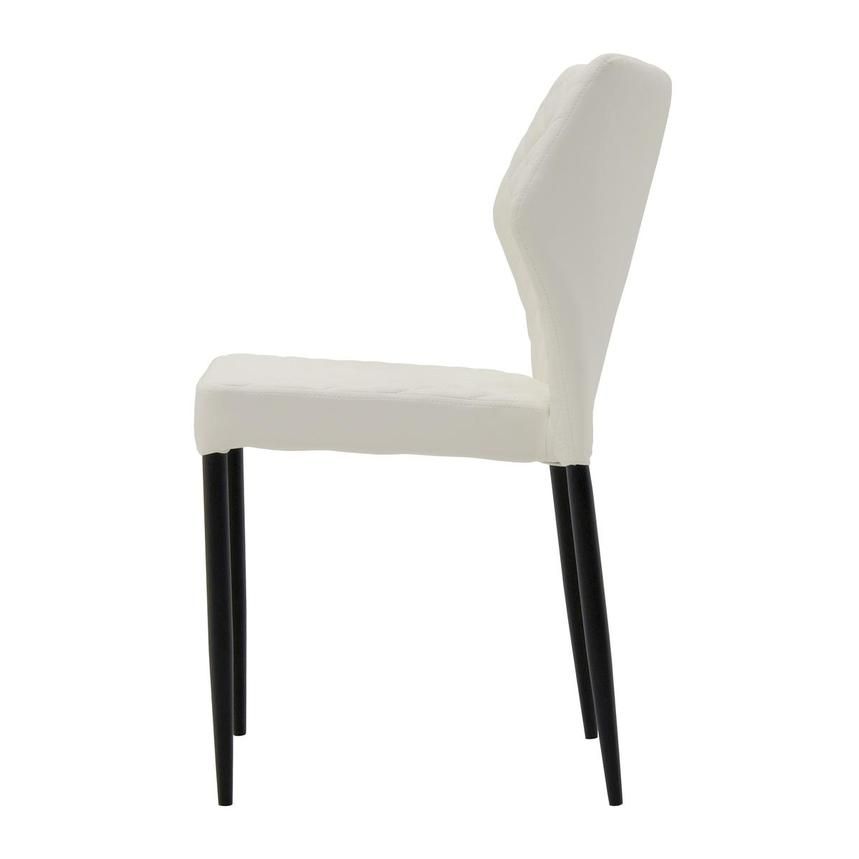 Zari White Side Chair  alternate image, 3 of 6 images.