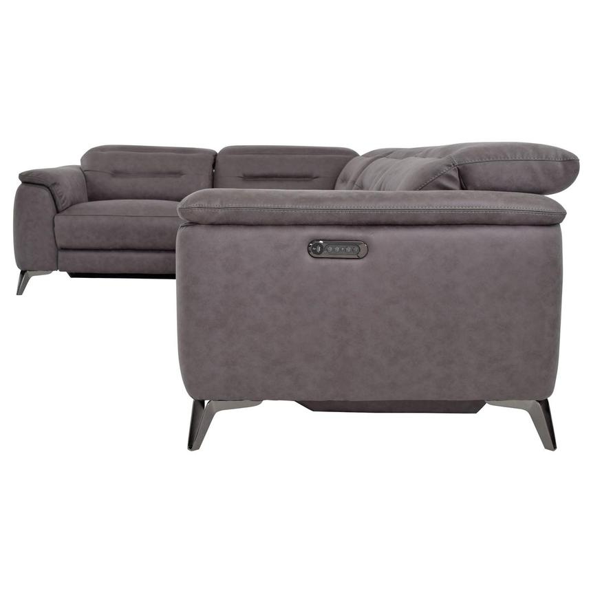 Claribel II Power Motion Sofa w/Right & Left Recliners  alternate image, 3 of 8 images.