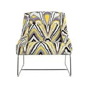 Tutti Frutti Yellow Accent Chair  main image, 1 of 7 images.