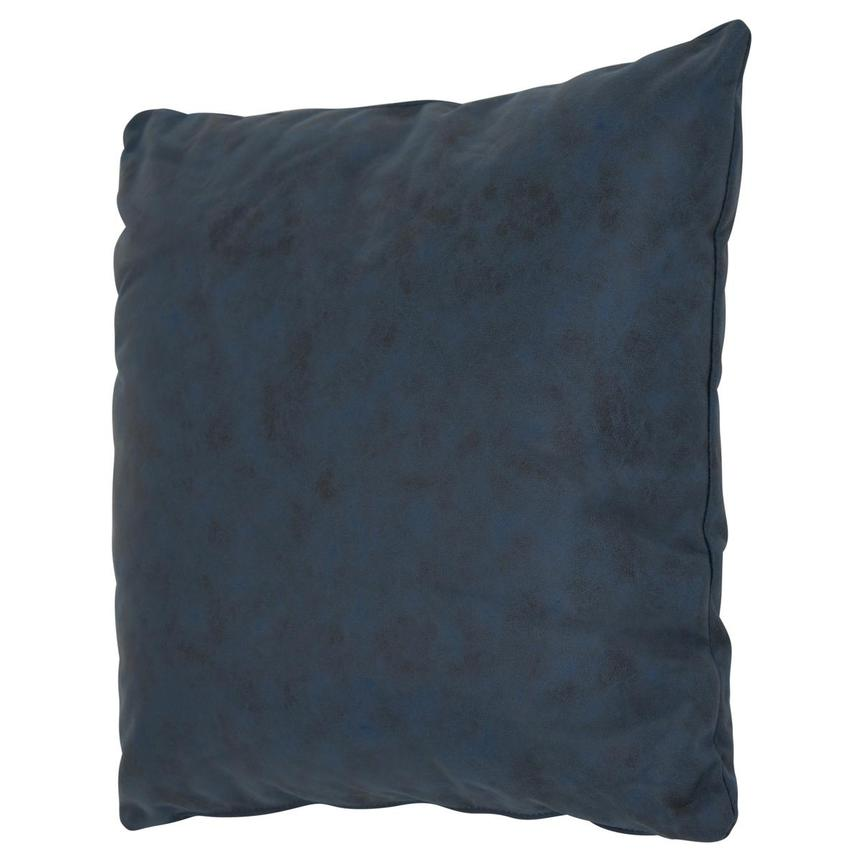 Okru Dark Blue Swivel Chair w/2 Pillows  alternate image, 9 of 10 images.