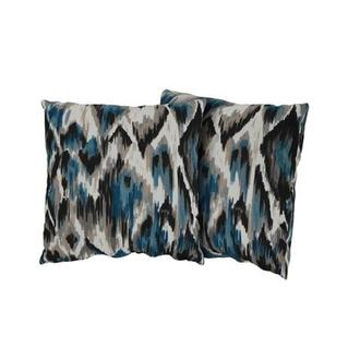Tutti Frutti Blue Two Accent Pillows