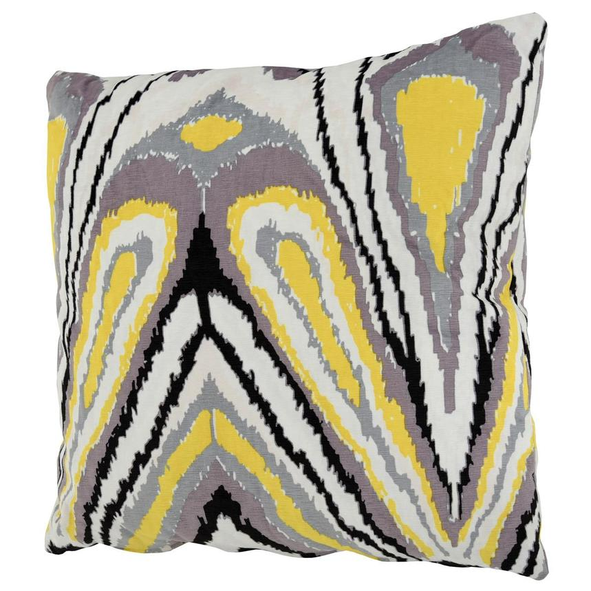 Tutti Frutti Yellow Two Accent Pillows  alternate image, 3 of 4 images.