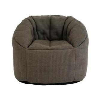 Elements Gray Outdoor Bean Bag