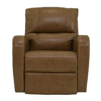 Keegan Tan Leather Power Recliner