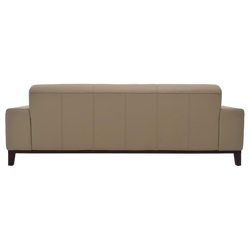 Milani Tan Leather Sofa  alternate image, 4 of 8 images.