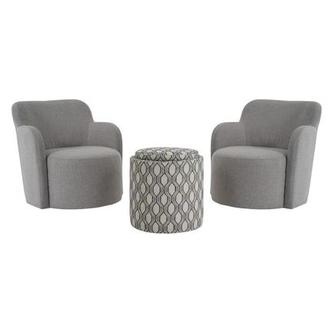 Joey Gray 3-Piece Living Set