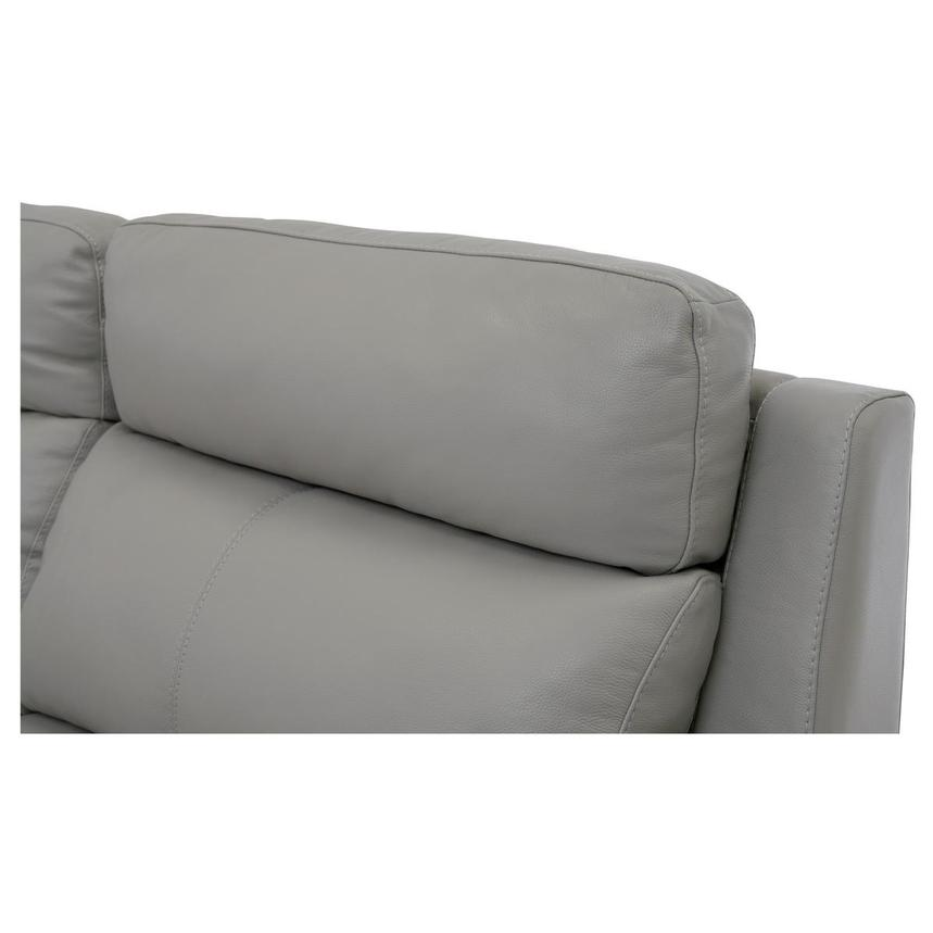Barry Gray Leather Power Reclining Sectional  alternate image, 7 of 12 images.