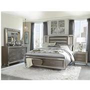 Stephanie Gray 4-Piece Queen Bedroom Set  alternate image, 2 of 6 images.