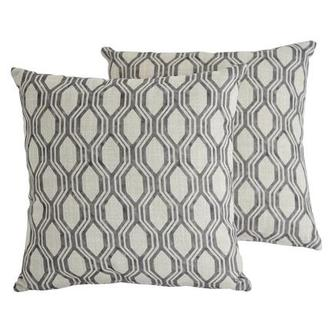 Joey Gray Two Accent Pillows