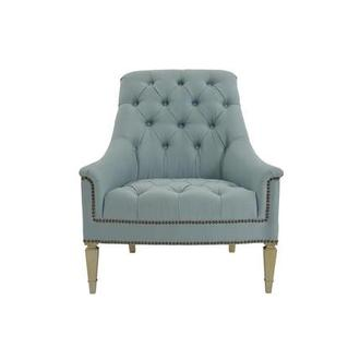 Kimberly Light Blue Accent Chair