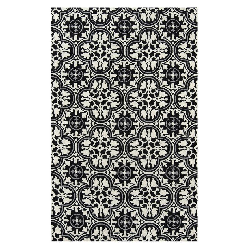 Botanical 4' x 6' Indoor/Outdoor Area Rug  main image, 1 of 3 images.