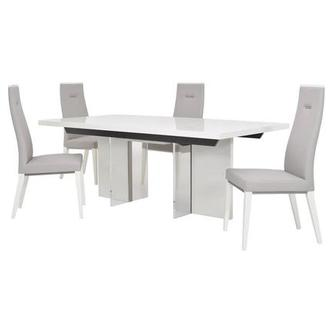 Siena 5-Piece Formal Dining Set Made in Italy