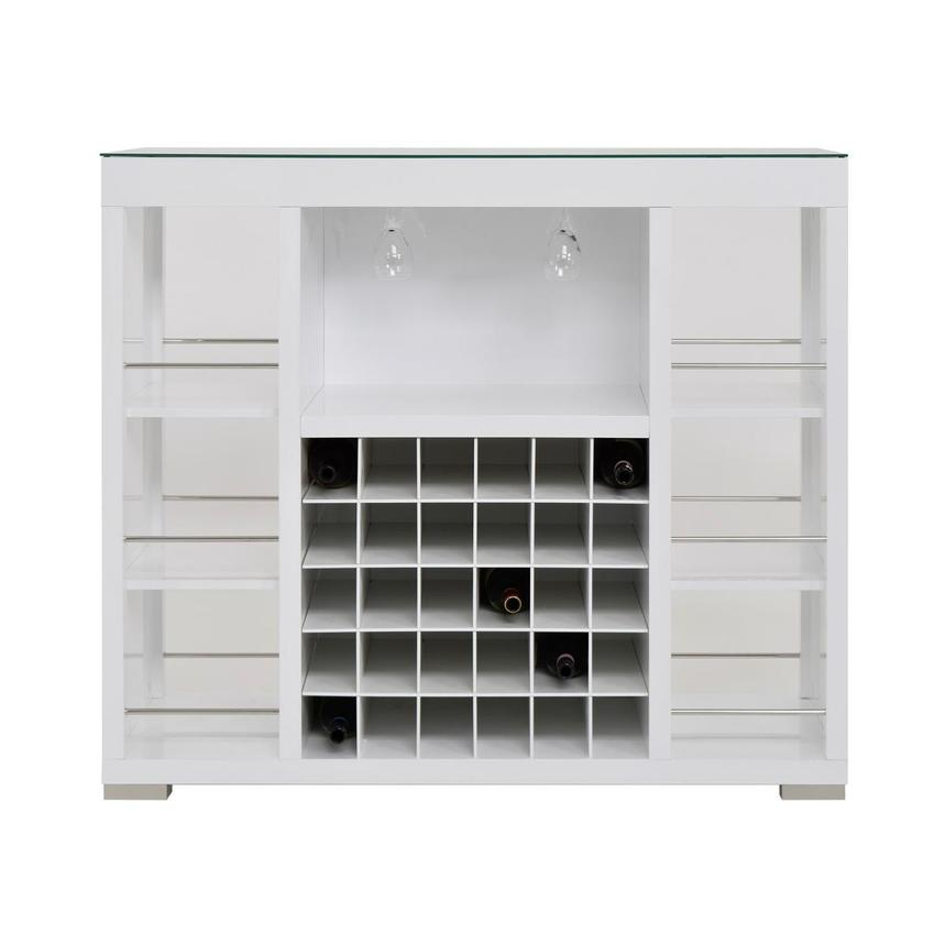 Freeport White Bar Cabinet Main Image 1 Of 8 Images