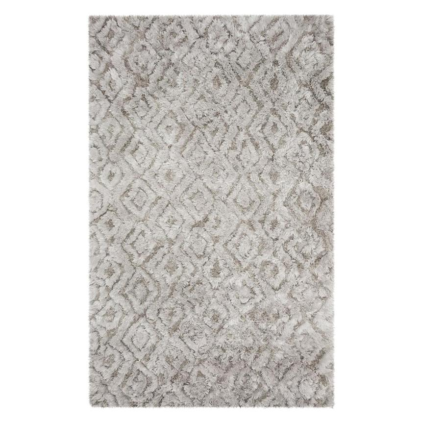 Gray Gem 5' x 8' Area Rug  main image, 1 of 3 images.