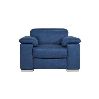 Karly Blue Power Motion Recliner