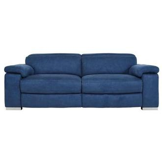 Karly Blue Power Reclining Sofa