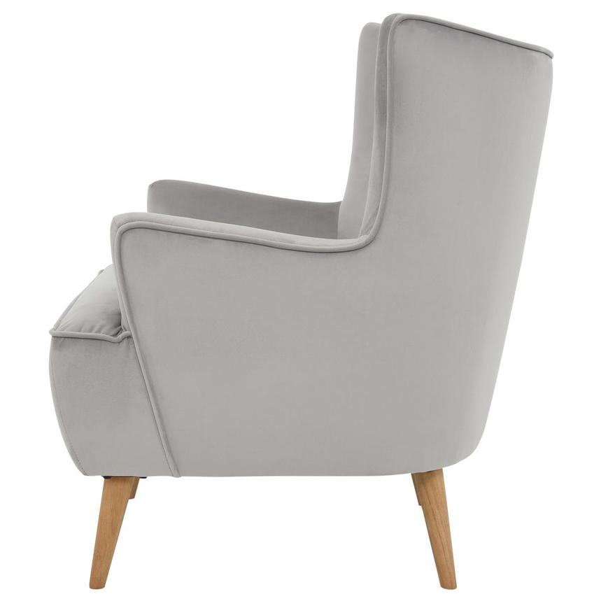 Zita Gray Accent Chair  alternate image, 3 of 6 images.