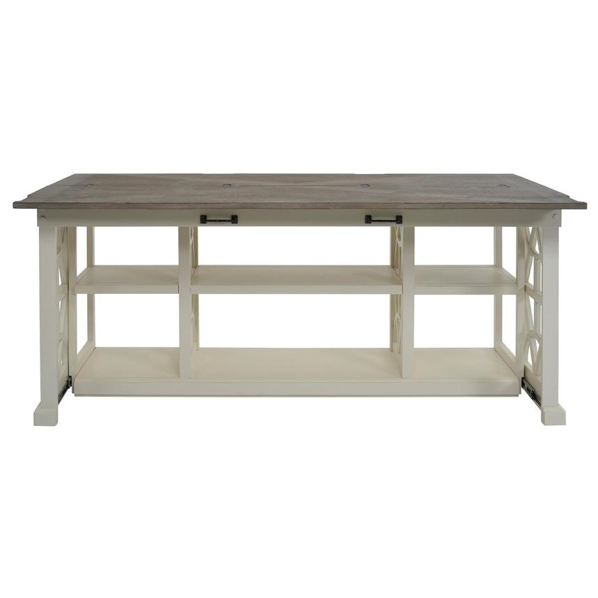 Summer Creek Console Table w/Casters  alternate image, 4 of 11 images.