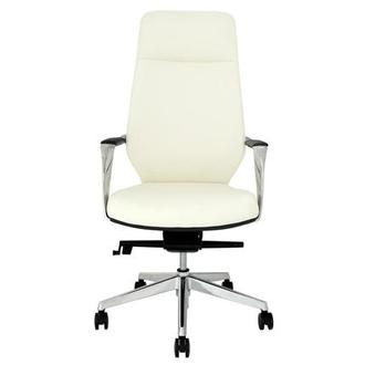 Yoshi White High Back Desk Chair