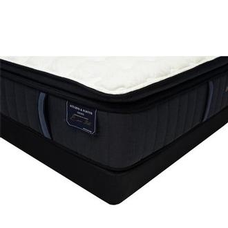 Hurston-EPT King Mattress w/Regular Foundation by Stearns & Foster