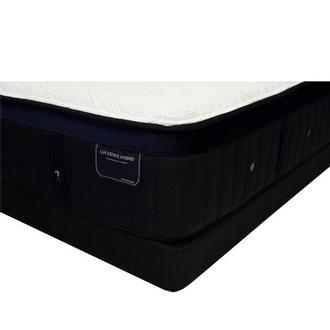Pollock-TT King Mattress w/Low Foundation by Stearns & Foster