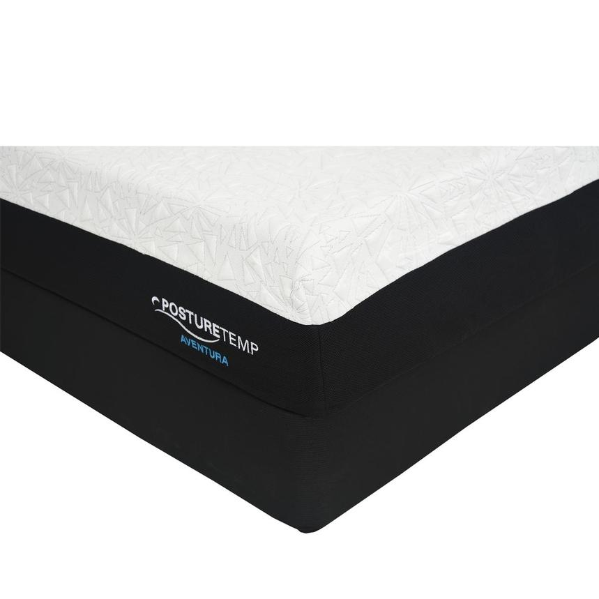 Aventura King Memory Foam Mattress w/Regular Foundation by Sealy Posturepedic  main image, 1 of 4 images.