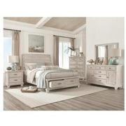 Hamilton off White 4-Piece King Bedroom Set  alternate image, 2 of 6 images.