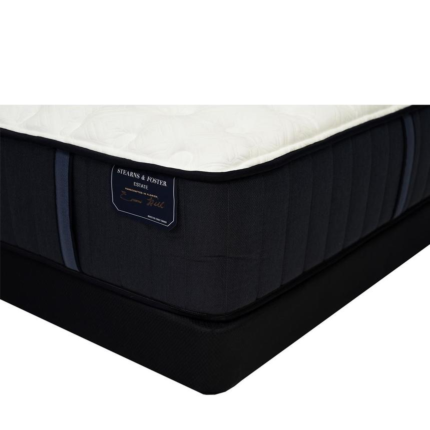 Hurston-TT Queen Mattress w/Regular Foundation by Stearns & Foster  main image, 1 of 6 images.