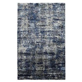 Viera Dark Blue 5' x 8' Area Rug