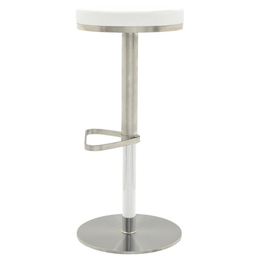 Kylee White Adjustable Stool El Dorado Furniture